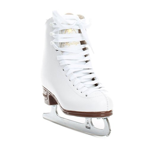 Jackson Ultima Mystique JS1491 White Kids Ice Skates, Size 3.5