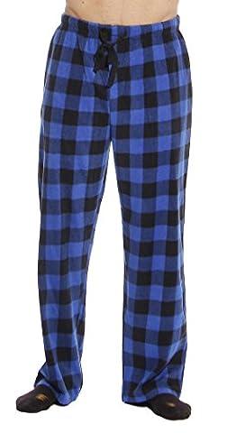 45902-1C-M #FollowMe Polar Fleece Pajama Pants for Men / Sleepwear / PJs - Flannel Pajama Pants Sleepwear