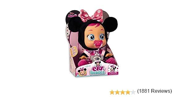 IMC Toys Muñeca Bebés Llorones, Minnie (97865)