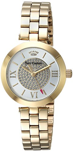 Juicy Couture Women's 'VICTORIA' Quartz Tone and Gold Plated Dress Watch(Model: 1901625)
