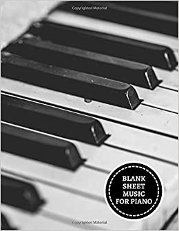 Amazoncom Blank Sheet Music For Piano Music Composition
