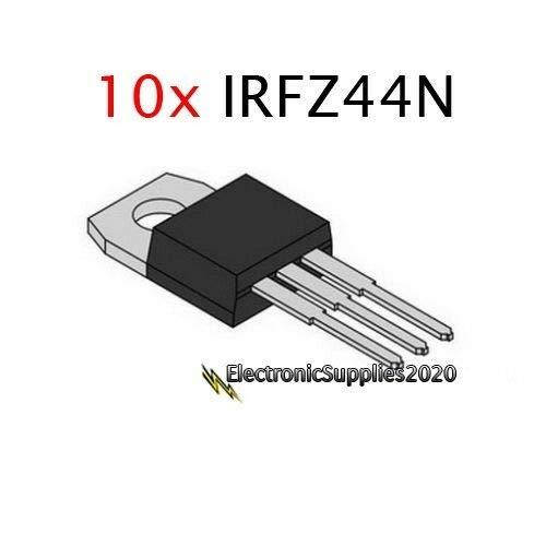 IRFZ44N IRFZ44 MOSFET N-Channel 49A 55V 55 Volts 10 PCS