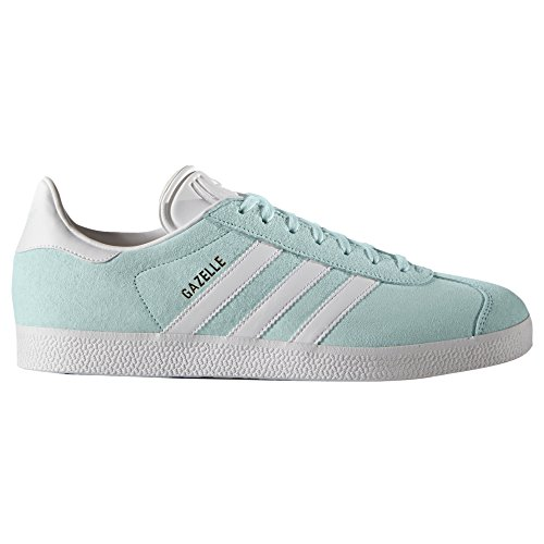 Rose Gazelle Baskets Sneaker white Low Bleu Mint Femme gold Adidas Metallic Noir top Chaussures Ice fqwgwxY