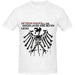 Die Toten Hosen All Ganzen Jahre Ihre Besten Lieder Greatest Hits Mens Digital Printed T Shirt White