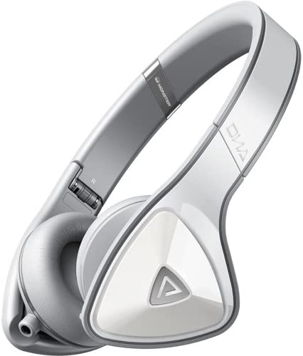 Monster DNA On-Ear Headphones, White Grey