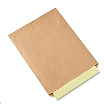 Amazon.com: 100 Unidades, Color café Kraft bolsas de papel ...