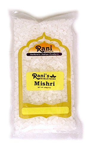 Rani Misri (India Sugar) 7oz (200gm) (7 Oz Sugar)