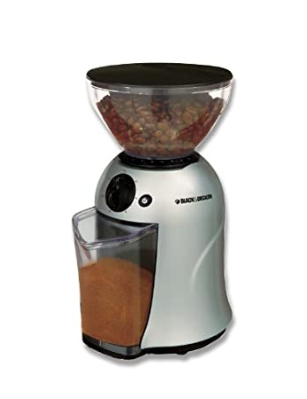 Black & Decker PRCBM5 12 Cup Coffee Bean Grinder Mill, 220-240 Volts (Not for use in USA and Canada) Coffee Grinders at amazon