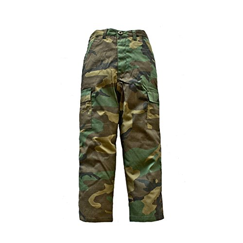 Trooper Clothing Classic BDU Camo Pant w/6 Pockets, Extra Small, BDU Camouflage, X-Small 100P-XS by Trooper Clothing