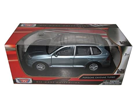 Porsche Cayenne Turbo Grey 1/24 by Motormax 73345