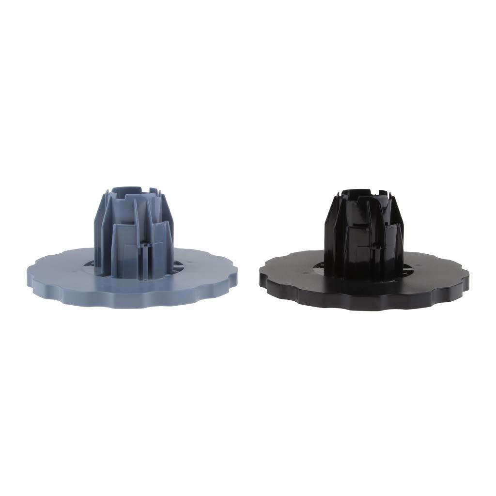 P Prettyia 2X END Cap Spindle hub für HP DesignJet 1100, 2300, 610, 770, 2100