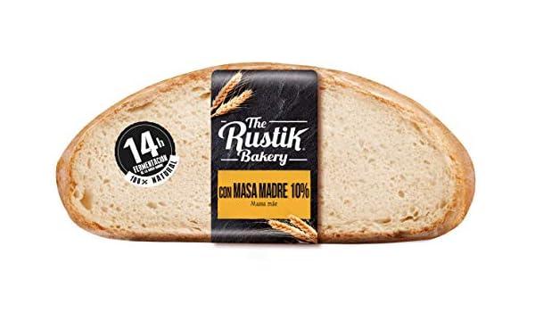 The Rustik Bakery - Pan Masa Madre - 450 g: Amazon.es: Alimentación y bebidas