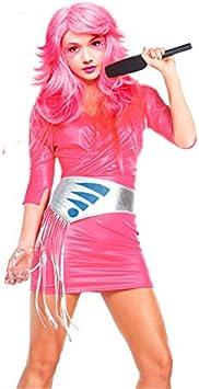 Disfraz estrella del pop 80s mujer adulto para Carnaval L: Amazon ...