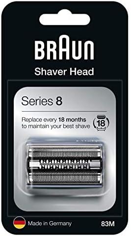 Braun Series 8 83M Cabezal de Recambio para Afeitadora Eléctrica ...