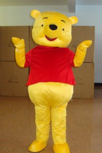 Costumes Winnie Piglet For Pooh Adults The And (Winnie the Pooh Piglet Mascot Costume Adult)
