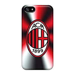 Strahan Scratch-free Phone Case For Iphone 5/5s- Retail Packaging - Ac Milan 3