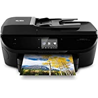 HP ENVY 7644 e-All-in-One Photo Quality Inkjet Printer, wireless printing, mobile phone compatible, in black (Certified Refurbished)