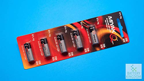 A23 12V Alkaline 23-A Replacement Battery 23AE GP - 5 Pack