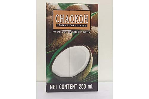 (Chaokoh 100% Pure Coconut Milk 8.5oz Pack of 12)