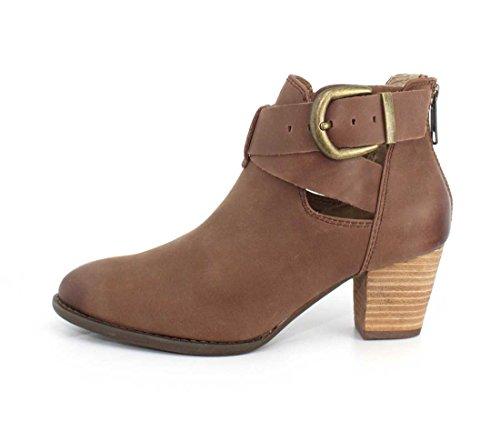 Dark Rory Boots Cowboy Vionic Women's Brown qaw0FI6F