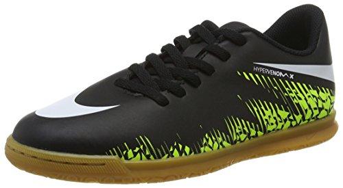 Nike 749911-017, Botas de Fútbol Unisex Adulto Negro (Black / White-Volt-Paramount Blue)