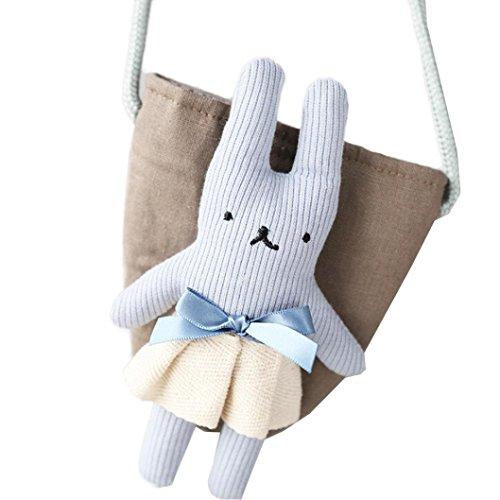 Main Dos Mignonne Unique À Rangement Rabbit Sacs De D'épaule Feitong® Sac A Bébé Bleu ACH6wcq