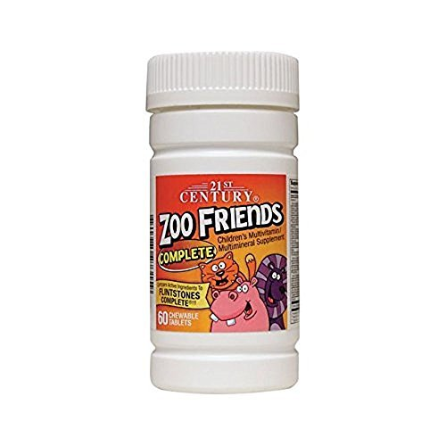 21st Century Zoo Friends Complete 60 Count (5 Pack)