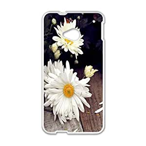 Happy Flowers Phone Case for HTC One M7 case