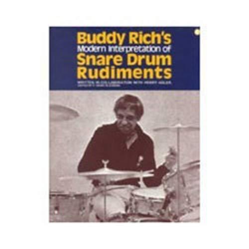 - Hal Leonard Buddy Rich's Modern Interpretation Of Snare Drum Rudiments
