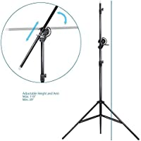 LimoStudio 10ft Two Way Tripod Boom Light Stand for Photo Photography Video Studio, AGG889