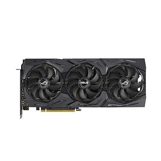 ASUS ROG Strix GeForce GTX 1660 Ti 6GB Overclocked Edition VR Ready HDMI 2.0 DP 1.4 Auto-Extreme Graphics card (STRIX… 41Em81QOZcL. SS555