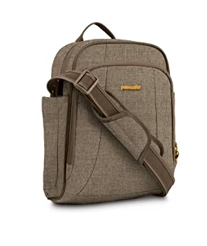 fa786d7e9 Pacsafe Metrosafe 250 GII Anti-Theft Shoulder Bag - Tweed, 8 Litres: Amazon. co.uk: Sports & Outdoors