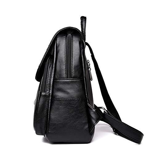 porté pour Xixik au taille femme à dos Noir Noir Sac main unique wnAqgBtA