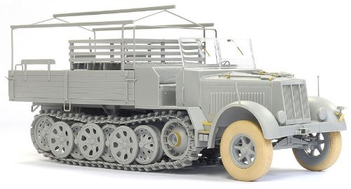 Dragon Models 1/35 Sd.Kfz.7 8 ton Halftrack - Late Production