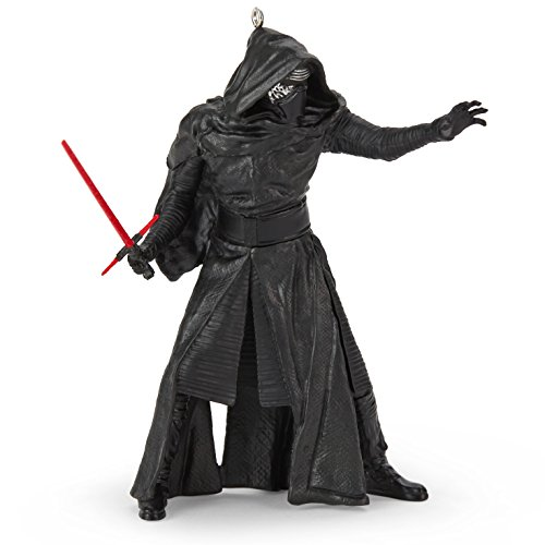 Hallmark Star Wars The Force Awakens Kylo Ren With LIghtsaber Ornament 2015