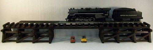 Model Railroad O Gauge LOWBOY Trestle and - Bridges Trestle