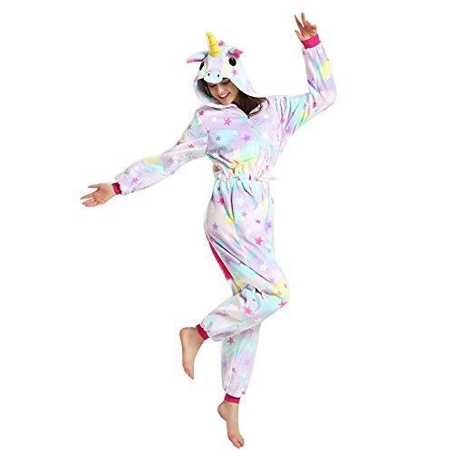 costumi opportunamente Animali festa Unicorno indumenti Pigiami Misslight Tostumi Vestito con Style1 Pigiami Pigiama adulti Donne unicorno Tute 6f1Oxn