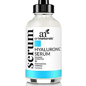 ArtNaturals Hyaluronic Acid Serum (1 Fl Oz / 30ml) – Anti- Aging Facial Serum, Natural Moisturizer w/Vitamin C Serum…