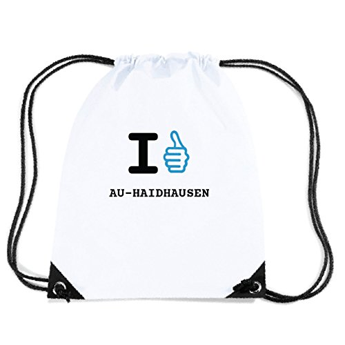 JOllify AU-HAIDHAUSEN Turnbeutel Tasche GYM172 Design: I like - Ich mag y5CRJg4FG