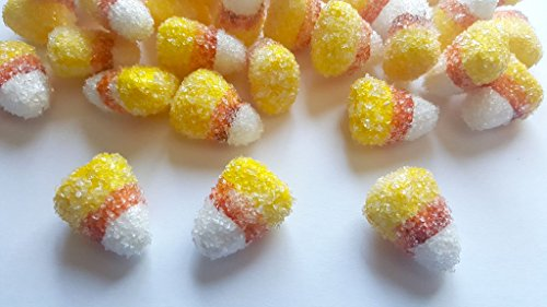 Foam Candy Corn Table Scatter, Vase Filler, Party Decoration (Candy Fillers)