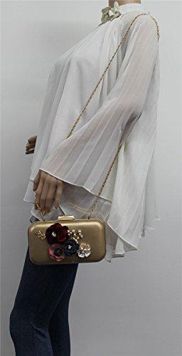 SwankySwans, Poschette giorno donna Taglia unica Gold