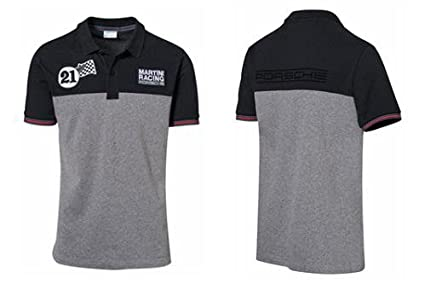Porsche Herren Martini Racing Polo-Shirt Gr. XXL, blau/grau ...