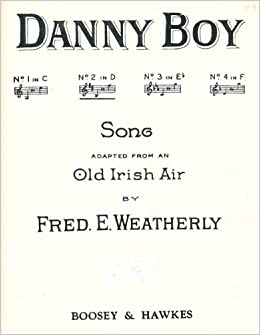 Danny Boy (SHEET MUSIC): 0029156171662: Amazon com: Books