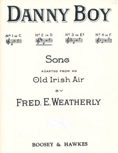 Danny Boy (SHEET MUSIC) Danny Boy Piano Sheet Music