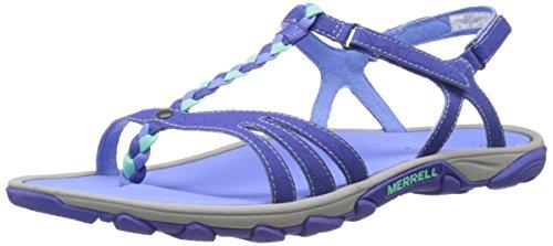 Enoki Aqua Schuhe Damen Merrell Blue Twist Blau Light ftdw1AyvqA