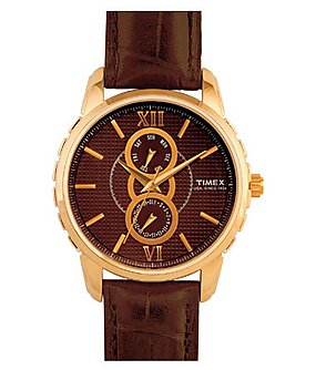 Timex Men's E Class Analog Dial Watch