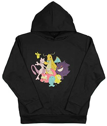 Pokemon Boys' Some Favorite Characters Hoodie (Medium) Black]()
