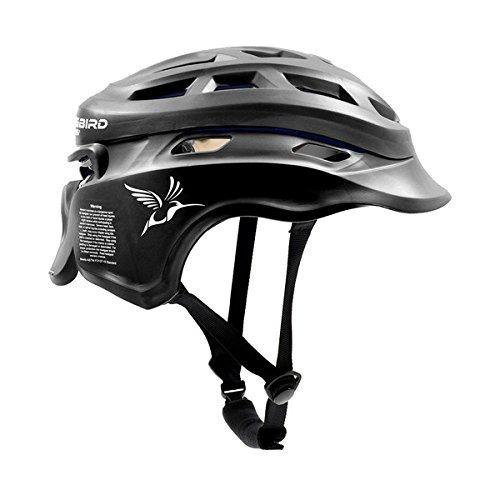 Hummingbird Sports Girls Ladies Lacrosse Helmet Headgear (Black, Small/Medium)