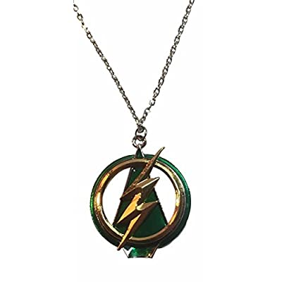Top The Flash Green Arrow Crossover Pendant NECKLACE hot sale