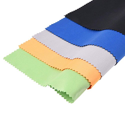 Panni per pulire in Microfibra – 5 Panni Colorati XL